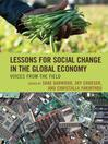 Lessons for Social Change in the Global Economy (eBook): Voices from the Field