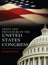 Party and Procedure in the United States Congress (eBook)