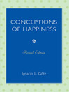 Conceptions of Happiness (eBook)