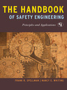 The Handbook of Safety Engineering (eBook): Principles and Applications