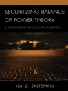 Securitizing Balance of Power Theory (eBook): A Polymorphic Reconceptualization