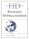 Historical Dictionary of Signals Intelligence (eBook)