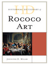 Historical Dictionary of Rococo Art (eBook)