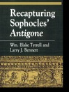 Recapturing Sophocles' Antigone (eBook)
