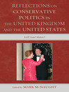 Reflections on Conservative Politics in the United Kingdom and the United States (eBook): Still Soul Mates?