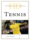 Historical Dictionary of Tennis (eBook)