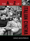 The A to Z of Italian Cinema (eBook)