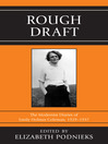 Rough Draft (eBook): The Modernist Diaries of Emily Holmes Coleman, 1929-1937