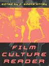 Film Culture Reader (eBook)