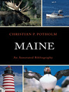Maine (eBook): An Annotated Bibliography