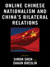 Online Chinese Nationalism and China's Bilateral Relations (eBook)