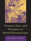 Women, Epic, and Transition in British Romanticism (eBook)
