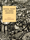 Critical Theory and Animal Liberation (eBook)
