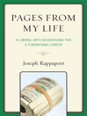 Pages From My Life (eBook): A Liberal Arts Background for a Fundraising Career