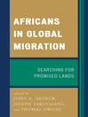Africans in Global Migration (eBook): Searching for Promised Lands