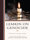 Lemkin on Genocide (eBook)