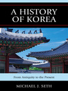 A History of Korea (eBook): From Antiquity to the Present