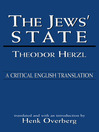 The Jews' State (eBook): A Critical English Translation