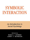 Symbolic Interaction (eBook): An Introduction to Social Psychology