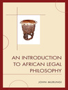 An Introduction to African Legal Philosophy (eBook)