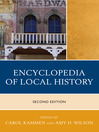 Encyclopedia of Local History (eBook)