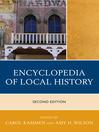 Encyclopedia of Local History (eBook)