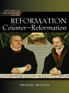 Historical Dictionary of the Reformation and Counter-Reformation (eBook)