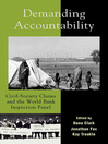 Demanding Accountability (eBook): Civil Society Claims and the World Bank Inspection Panel