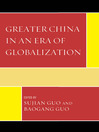 Greater China in an Era of Globalization (eBook)