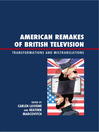 American Remakes of British Television (eBook): Transformations and Mistranslations