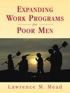 Expanding Work Programs for Poor Men (eBook)