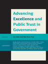 Advancing Excellence and Public Trust in Government (eBook)