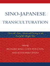 Sino-Japanese Transculturation (eBook): Late Nineteenth Century to the End of the Pacific War