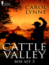 Cattle Valley Box Set 3 (eBook)