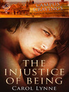 The Injustice of Being (eBook)
