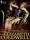 More than Vanilla (eBook)