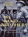 We Band of Brothers (eBook): A Biography of Ralph Honner, Soldier and Statesman