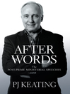 After Words (eBook): Post-Prime Ministerial Speeches
