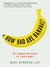 How Bad Are Bananas? (eBook): The Carbon Footprint of Everything