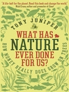 What Has Nature Ever Done For Us? (eBook): How Money Really Does Grow On Trees