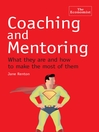 Coaching and Mentoring (eBook)