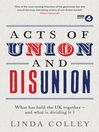 Acts of Union and Disunion (eBook)