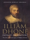 Illiam Dhone: Patriot or Traitor? (eBook): The Life, Death and Legacy of William Christian