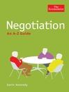 Negotiation (eBook): An A-Z Guide