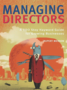 Managing Directors (eBook): The BDO Stoy Hayward Guide For Growing Businesses