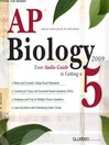 AP® Biology 2009 Edition (MP3): AP Biology 2009 Edition