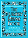 The Nursery Rhyme Book (eBook): Remember the Rhymes of Yesterday