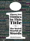 There are Tittles in This Title (eBook): The Weird World of Facts