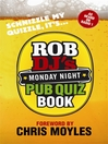 Rob DJ's Monday Night Pub Quiz Book (eBook)
