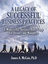 A Legacy of Successful Business Practices (eBook)